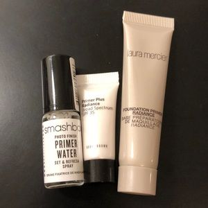 Sephora Smasbix Bobbi Brown Laura Mercier Primers
